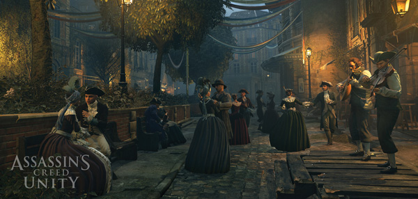 Ubisoft's open world video game Assassin's Creed Unity