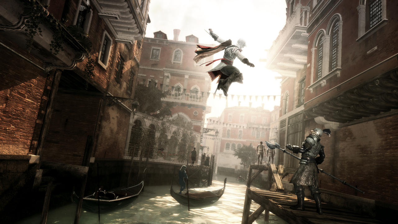 Assassin's Creed II – Ubisoft (Montreal) The first Assassin's Creed laid the groundwork, but it was Assassin's Creed II that elevated the franchise with improved gameplay, story, action and free-roam capabilities. The gorgeous Italian Renaissance setting didn't hurt either. [Image: Ubisoft.com]