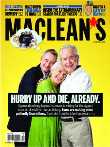 Maclean's, Best Magazine Cover